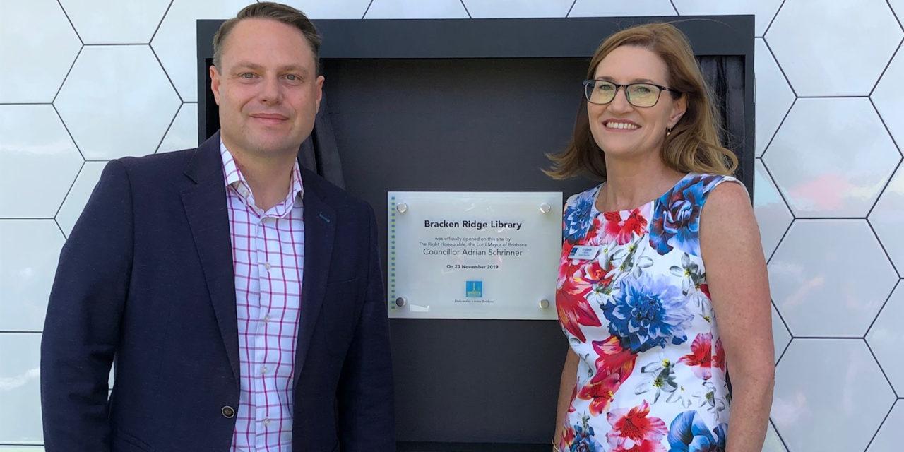 Our new Bracken Ridge Library is open