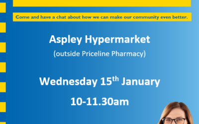 Mobile Office- Aspley Hypermarket