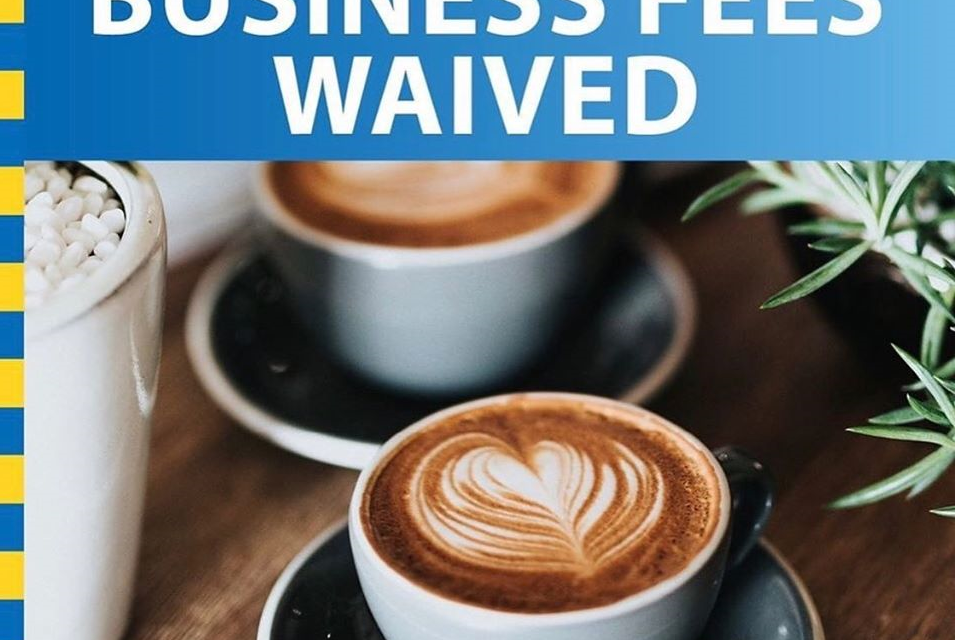 Business Fees Waived