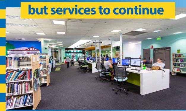 Brisbane Libraries Now Closed
