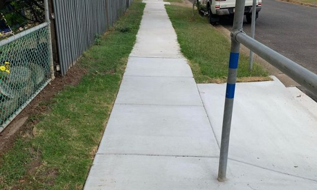 New Footpath- Percivale Street, Bracken Ridge