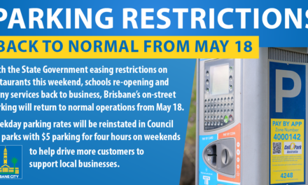 CBD Parking returns to normal