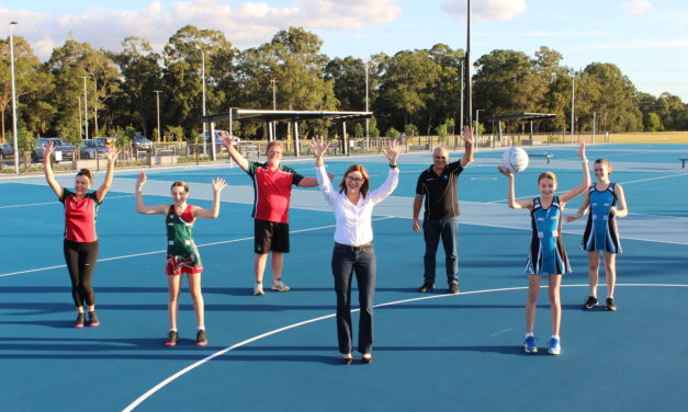 Telegraph Road Netball Courts are now complete