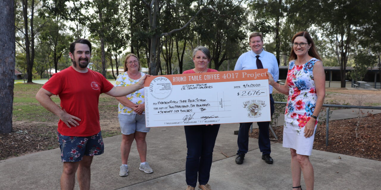 Record donation from 'The 4017 Project'