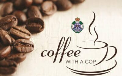 'Coffee with a Cop' Fitzgibbon
