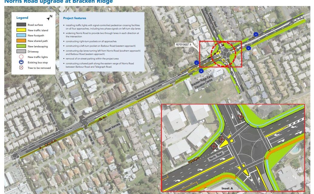 Norris and Barbour Roads Intersection Upgrade