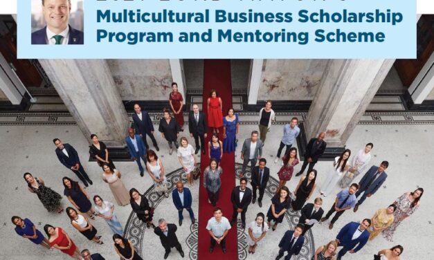 2021 Lord Mayor's Multicultural Scholarship Program and Mentoring Scheme