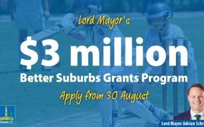 Lord Mayor's Better Suburbs Grants